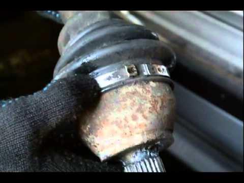 Люфт в шлицевом соединении трипоида форд мондео 3