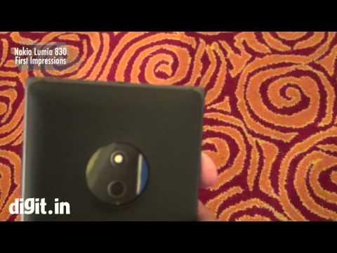 Nokia Lumia 830 - First Impressions