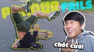 ĐÃ XEM VIDEO NÀY KHÔNG CƯỜI KHÔNG LÀM NGƯỜI !!! | Parkour Fails | POBBrose ✔