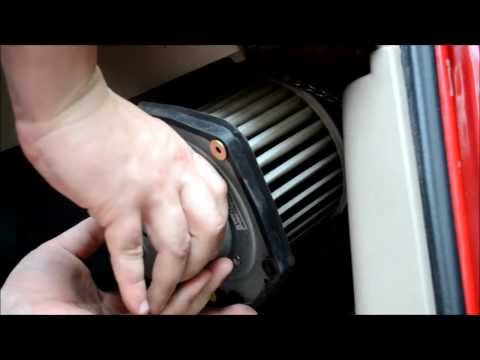 how to change the cabin filter of 2015 buick verano
