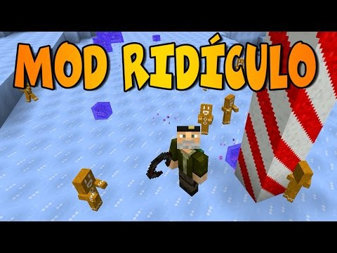 HOMBRES GALLETA | Ridiculous Mod | Minecraft Mod Review