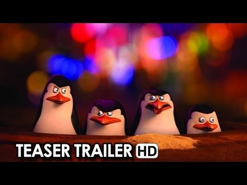 I pinguini di Madagascar Teaser Trailer Ufficiale Italiano (2014) - Ben Stiller Movie HD