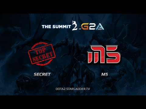 Team Secret vs Moscow5 The Summit 2 Day 15 Game 2