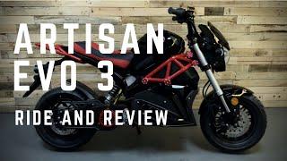 Artisan Evo 3 Electric Motorbike - Ride & Review
