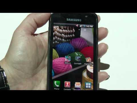 Samsung Galaxy S demostration