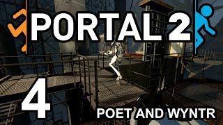 Portal 2 with Poet and Wyntr - Episode 4