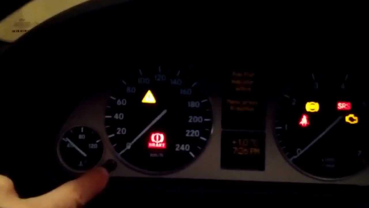 Mercedes B-Class W245 2005-2011 Runflat Reset HOW-TO - YouTube
