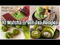 10 EASY Matcha Green Tea Desserts Recipes | OCHIKERON | Create Eat Happy :)