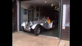 Suffolk Jaguar SS100, John Sutton's Test Drive