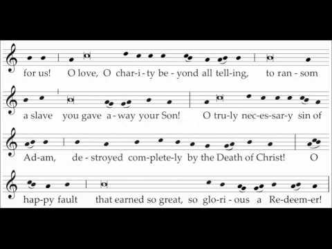 Gregorian Chant - Exsultet