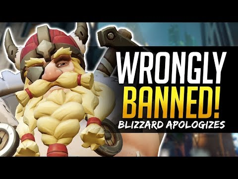 Overwatch ONE TRICK BANS - BLIZZARD APOLOGIZES - Fuey500 XQC & more!