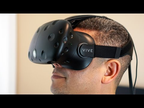 HTC Vive Unboxing and Setup: This Was Crazy!