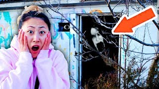EXPLORING ABANDONED TOWN with CARTER SHARER!! (3AM 😱OVERNIGHT CHALLENGE)