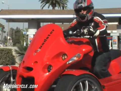 "2008 GG Quadster ""Motorcycle"" Review"