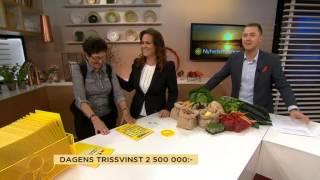 Se de fyra mest klickade Triss-vinnarna - Nyhetsmorgon (TV4)