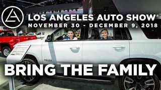 Bring the Family to the 2018 LA Auto Show