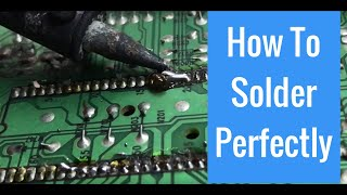 How to Solder Electronic Components Perfectly