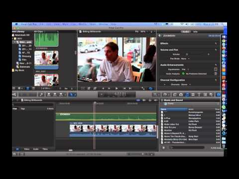 How to Merge / Combine Audio and Video Clips Using Final Cut Pro X - FCP X