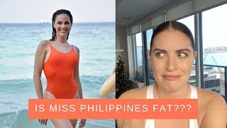 "MISS PHILIPPINES BODY SHAMING CONTROVERSY | What is a ""MISS UNIVERSE BODY""?"