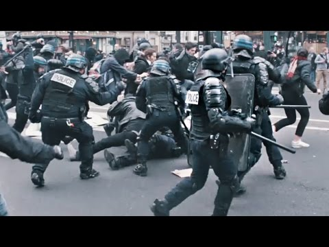 Riots in Paris - Police Brutality!