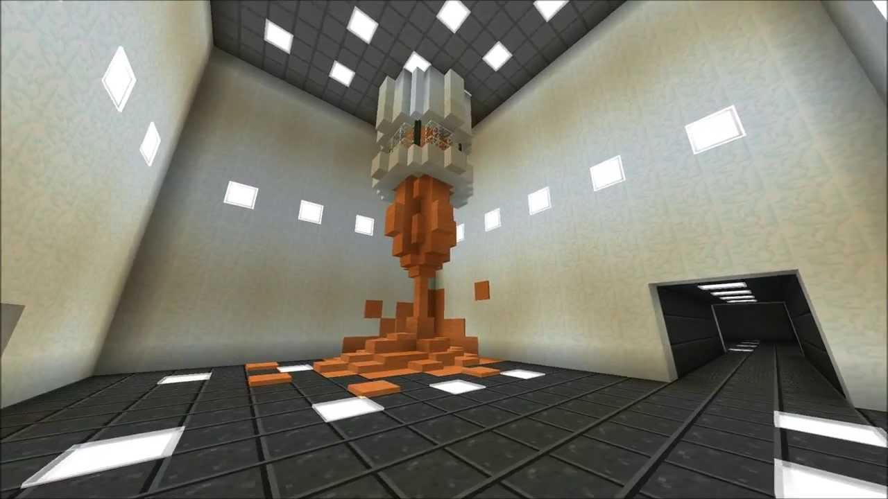 Aperture Science in Minecraft
