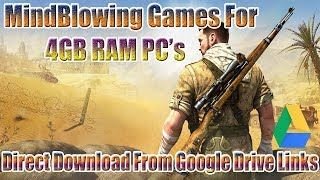 Top 10 Games For 4GB Ram PC 2018 || Best Games For 4GB RAM PC 2018.