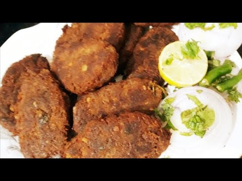 Hyderabadi mutton ki shami very  tasty recipe