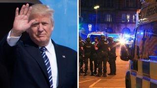 Media so Trump-deranged, it ignores Manchester aftermath