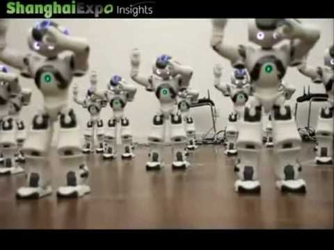 Foghat ~ Slow Ride with amazing dancing robots