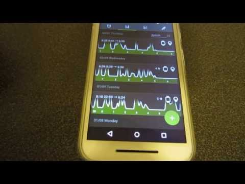 Sleep Tracking with Android Wear & Google Fit