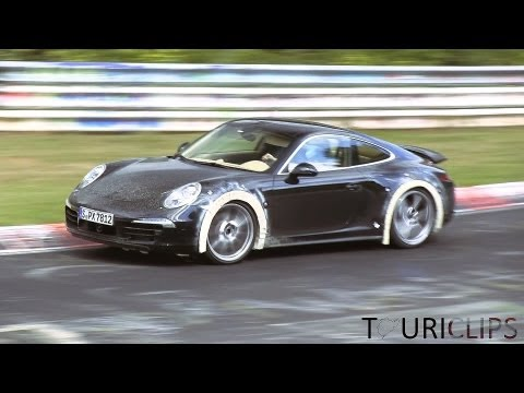 New Porsche 911 (991) Tests at the Nurburgring
