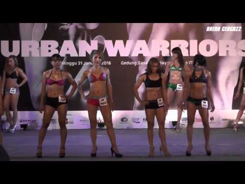 Top 10 & Result - Women Fitness Beauty Category, Urban Warriors 2016