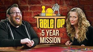 TableTop: Wil Wheaton Plays STAR TREK: FIVE YEAR MISSION w/ Jessica Chobot, Jaime King, & Jesse Cox
