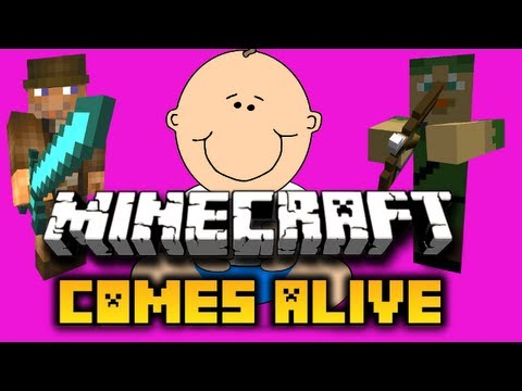 Minecraft Comes Alive Mod 1.4.7 SMP update - How to Install & Spotlight
