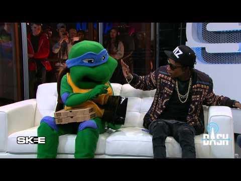 Wiz Khalifa Says SKEE Live Landed His Ninja Turtle Deal