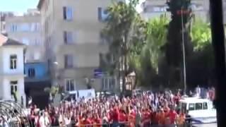 Gaziantep karıştı! Büyük olaylar! Gaziantepspor   Galatasaray Maç Öncesi 28 04 2013]