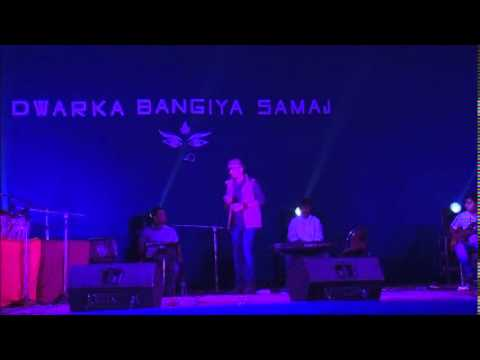 Soumen Choudhary Performing A Bengali Song Of Manna Dey Saab coffee House, Live video