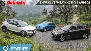 Volvo XC40 vs Audi Q3 vs BMW X1 | Premium Compact SUV face-off | Feature | AutoToday