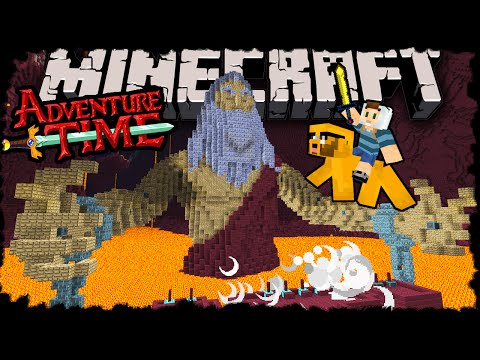Minecraft: Adventure Time with Finn Jake Herobrine's Return Adventure Map Episode 4 Giant Boss