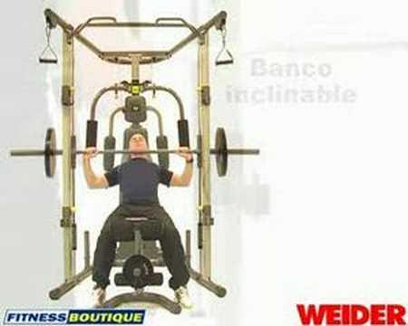 Banco WEIDER Smith Machine YouTube