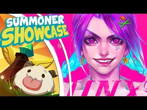 Arcade Jinx! | Summoner Showcase /ALL Chat [League of Legends]