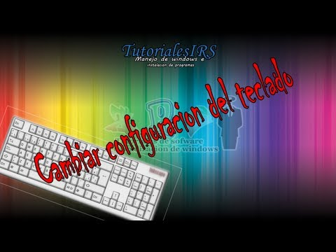 Como configurar el teclado en windows 8 (cambiar idioma) - windows 8
