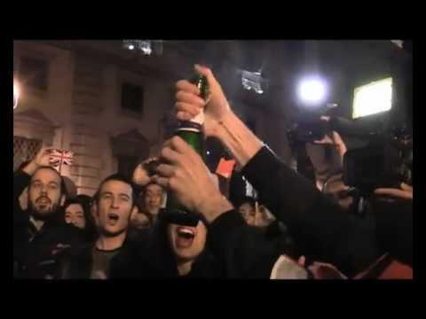 Bye Bye Silvio. Berlusconi si dimette. Festa al Quirinale (12 novembre 2011 ore 21.42)
