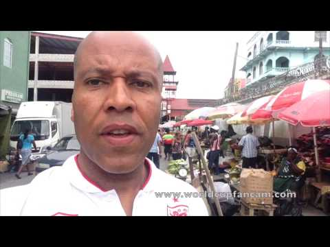 Brazil 2014 World Cup Travel Video Blog. Day 1 - Georgetown, Guyana