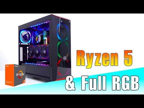 Quá trình lắp PC Gaming Ryzen 52 triệu đồng full RGB | Timelapse Build