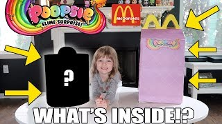 GIANT POOPSIE SURPRISE UNICORN HAPPY MEAL FROM MCDONALD'S! WHAT'S INSIDE!?