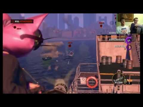 Saints Row the Third Live Stream- Episode 18 Barge Bully
