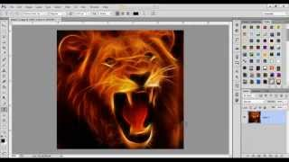 Photoshop Tutorials:Fractalius Effect