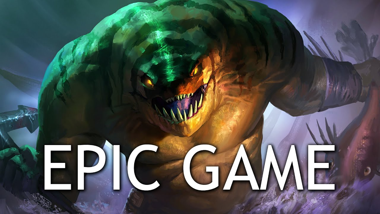 Dota 2 Tidehunter Ravage Dota 2 Tidehunter Epic Game