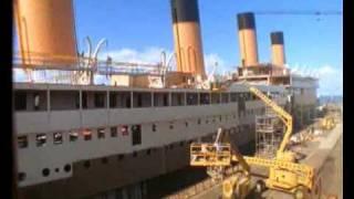 Titanic Movie 1997 Set Ship Construction Time Lapse *AMAZING*